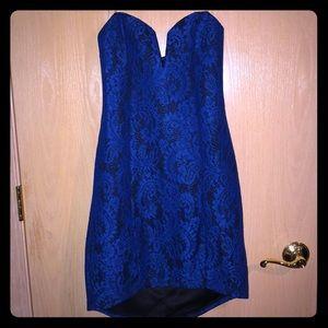 Strapless dress size M